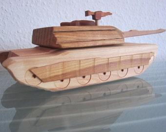 Panzer Leopard 2 Battle Tank Germany HANDMADE large floor model wood