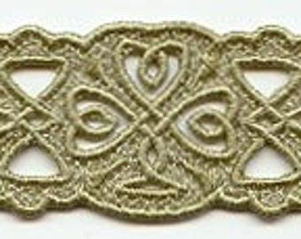 Lace Bracelet - Celtic Shamrock - more colors available