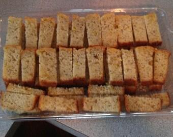 Homemade Lemon Poppy Seed Bread Gluten Free