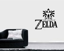 Legend Of Zelda Wall Decal