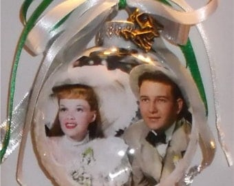 Meet Me In St Louis inspired Tribute Christmas Ornament