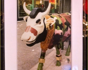 Cow Parade: Mr. T Photograph (2000)