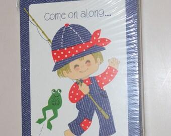 Birthday Invitations for Little Boy's Party Hallmark Set of 8