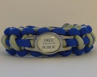 TARDIS Paracord Bracelet