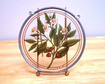 Suncatcher, Glass Masters titled Tea