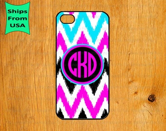 iPhone 6/6s Plus Case, iPhone 6/6s Case, Chevron Pattern Monogram iPhone 5s Case, iPhone 5c Cover, iPhone 4 4s Cases,iPhone SE Case