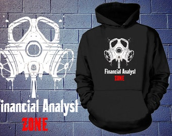 Financial Analyst Zone Sweater  Finance MBA Business Student Finance Manager Management Finance Hoodie Gift For Banker Trader Broker