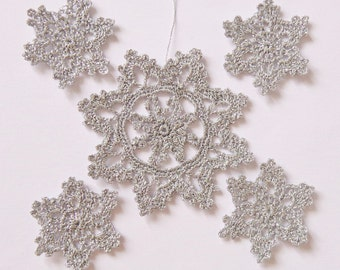 Silver Snowflake For Elsa Frozen Party Decor - Disney Princess Queen Elsa / Anna Applique - Choose your size