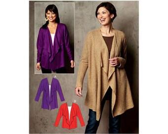 Sewing Pattern - Womens Pattern for Vest Pattern - Kwik Sew #K3721