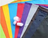 UV bestendige PUL stof In 10 effen kleuren door de werf