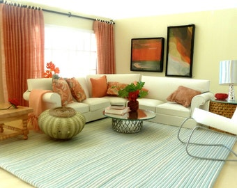 COMPLETE YOUR ROOM with a Peach ensemble of accessories.