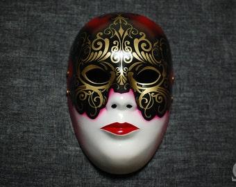 Venetian mask - satin finish