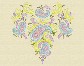 Paisley Ornament - Machine Embroidery Desidns Set
