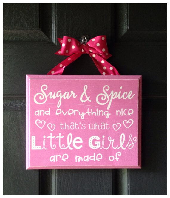 Popular Items For Nursery Decor On Etsy Baby Shower: Items Similar To Nursery Decor, Sugar And Spice And