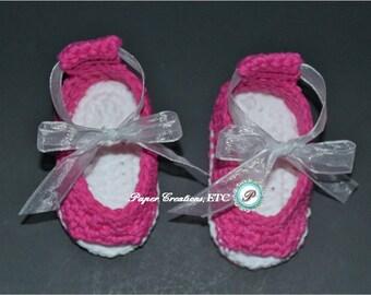 Crochet 'Ballerina' Sandals