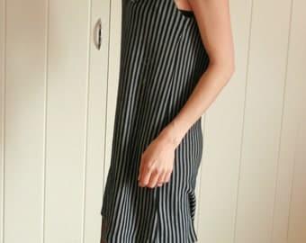 Vintage Stripe Sundress Dress