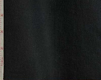 """Black Jersey Fabric 2 Way Stretch Combed Ring Spun, CPRS Cotton 7 Oz 62-64"""""""