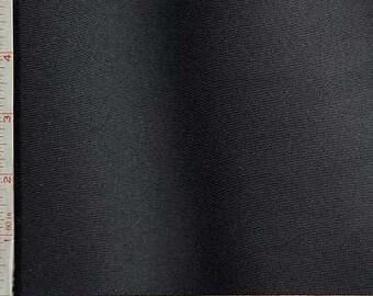 "Black Tactel Jersey Fabric 4 Way Stretch Nylon Spandex Lycra 11 Oz 58-60"""