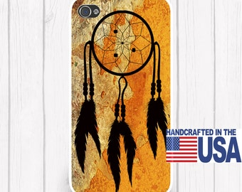 Dream Catcher Personalized Phone Case Rust Background  iPhone 5 iPhone 5S iPhone 5C iPod Samsung iPhone 4/4S iPhone 6 iPhone6