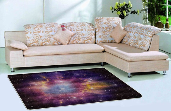 Items Similar To Galaxt Rug Purple Rug Floor Rugs Outer