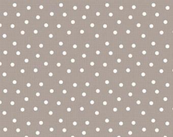 Pam Kitty Ping Pong - Grey - by Lakehouse Fabrics (LHC11016-Grey) Fabric Yardage