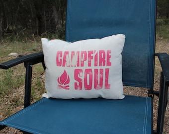 Campfire Soul Pillow - Fire