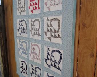 Vintage basket quilt #2