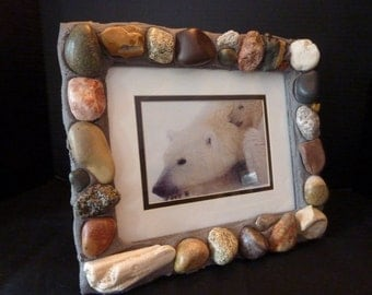 8 x 10 Stone Picture Frame
