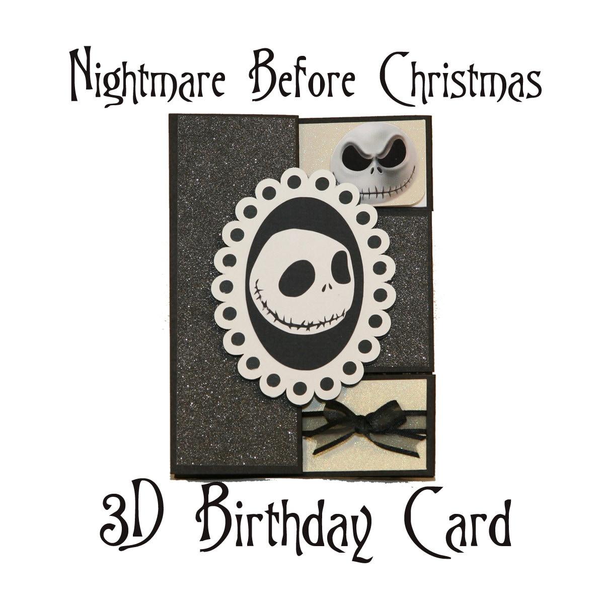Sensational Nightmare Before Christmas Birthday Shutter By Funny Birthday Cards Online Ioscodamsfinfo