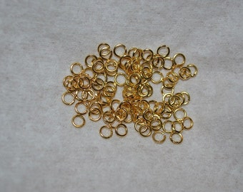 5.5mm Gold Plated Jumpring Lots (3013501-B)