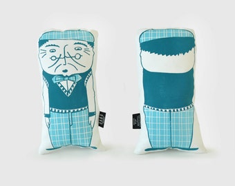 PAPI Hubert. Cushion plush printing craft