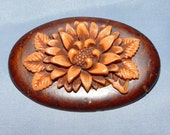 Flower Motif Brooch