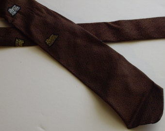 vintage train necktie