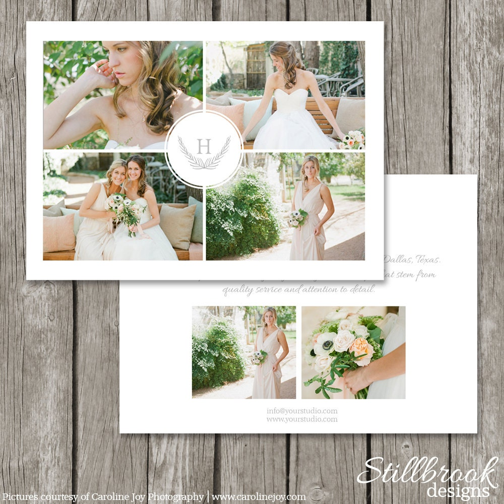 photography marketing template flyer wedding photography