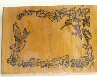 Rubber stamp ,lovely frame border