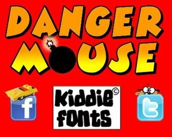 DANGER M@USE Commercial Font