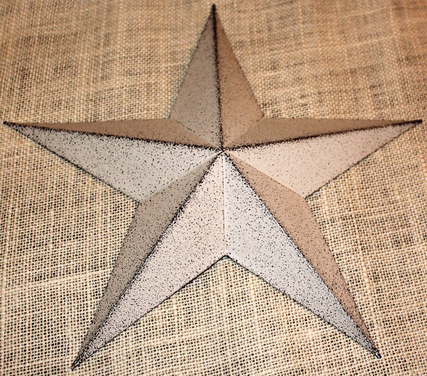 5 metal tin barn star wall decor - Stars for walls decorating ...