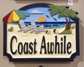 Beach House Signs, Custom Signs, Misc. Signs, Personalized House Signs