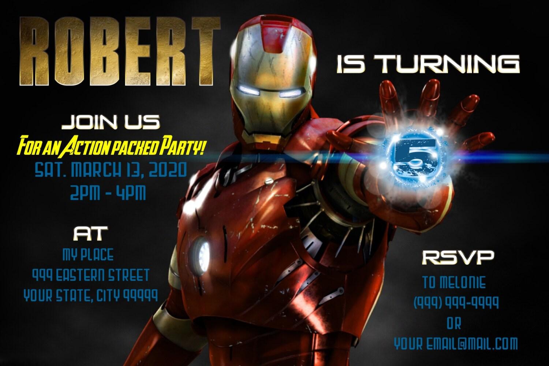 Iron Man Happy Birthday Pictures to Pin on Pinterest - ThePinsta
