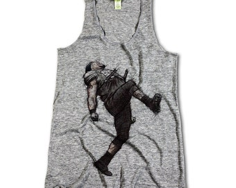 Ray Lewis NFLPA Officially Licensed Baltimore Womens Tank Top S-XL Ray Lewis Dance K