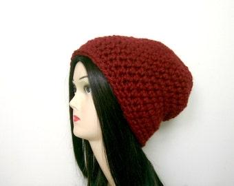 CROCHET HAT PATTERN, Hat Pattern, Slouchy Hat Pattern, Crochet Pattern, Womens Hat, Crochet Hat, Instant Download, Beanie Hat, Hat (B45)