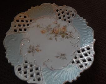 Lattice Painted Plate