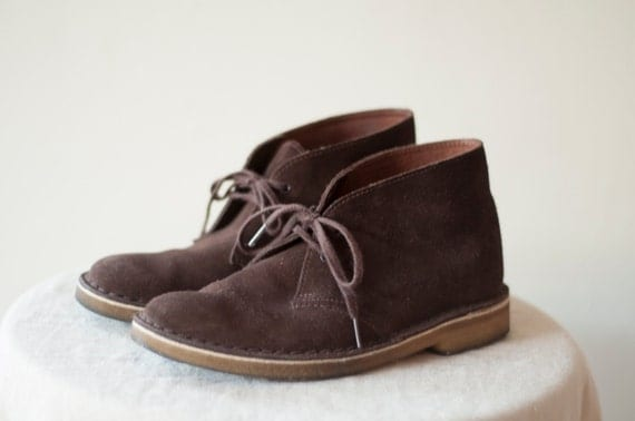 braun wildleder damen clarks desert boots natural. Black Bedroom Furniture Sets. Home Design Ideas
