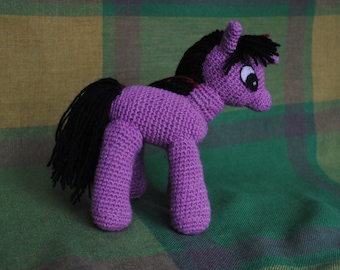 Crochet Fantasy Pony,Handmade Fantasy Pony, Amigurumi Pony, Pony