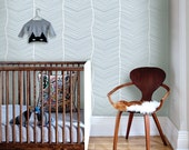 Striped Seamless Blue Removable Wallpaper - Peel & Stick, Repositionable Fabric