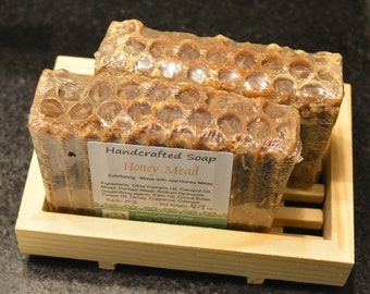 Handcrafted Honey Mead Soap