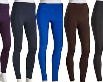 Fleece Leggings Seamless Leggings Warm Leggings Womens Fleece leggings