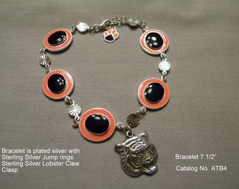 Game Day Bracelet Orange/Blue  Cat No. ATB4