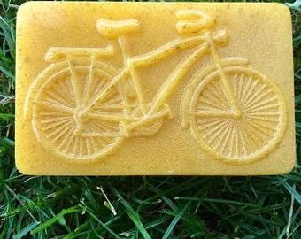 Bicycle Soap- Vintage Bike Soap- Athlete-gift for him-gift set for her-handcrafted soap-vegan-soap set- Bike soap