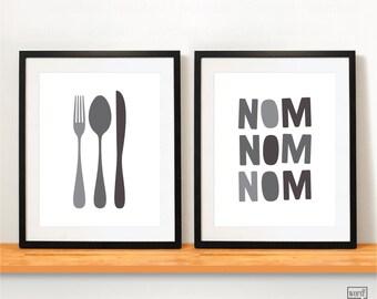 Kitchen Quote Print, Kitchen Wall Decor, Kitchen Art Print Black U0026 White Kitchen  Artwork